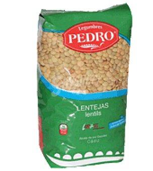 LEGUMBRES PEDRO Lenteja castellana 1 kg