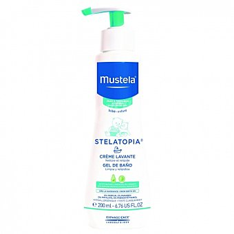 Stelatopia-Mustela Gel de baño 200 ml
