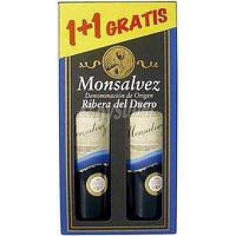 R. del Duero MONSALVEZ Vino Tinto Reserva Pack 1+1x75 cl