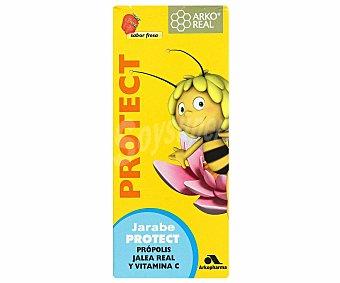 ARKOREAL Jarabe protect con jalea rela, própolis y vitamina C (no recomendado para personas alérgicas o personas sensibles a productos apícolas, no apto para diabéticos) 150 Mililitros