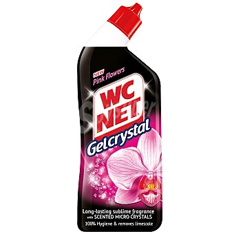 WC Net Gel WC crystal pink flowers 750 ml