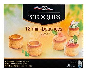 Les 3 Toques Minivolovanes Caja 66 g