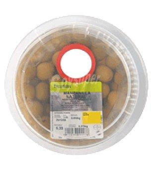 Aceitunas Manzanilla con hueso y sabor natural Tarrina de 180 gr