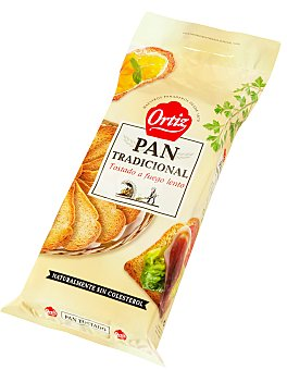 Ortiz Pan tostado 720 g