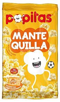 Popitas Borges Palomitas de maíz con sabor a mantequilla para microondas de Borges Paquete de 100 g