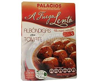 Palacios Albóndigas con tomate Bandeja 260 g