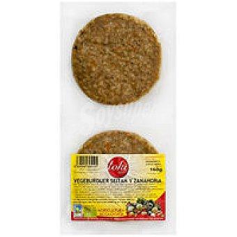 Toki Eco Vegeburger setian-zanahoria Bandeja 160 g