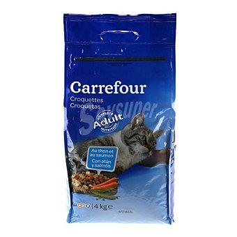 Carrefour Croquetas para gatos de atún y salmón 4 kg