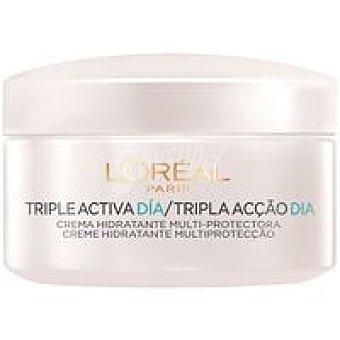 Crema triple activa piel normal lòreal Tarro 50 ml