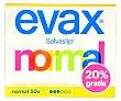 Protege slips normal Caja 44 unidades Evax