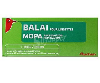 Auchan Mopa Atrapapolvo + Recambios Pack 1 Unidad + 10 recambios