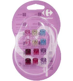 Carrefour Pincitas pequeñas línea infantil Pack de 12 uds