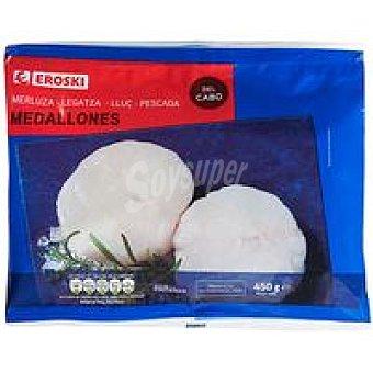 Eroski Medallones de merluza Bolsa 500 g