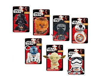 Star Wars Disney Peluche Star Wars El despertar de la fuerza de 17 centímetros con sonidos 1 unidad