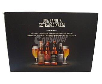 Dorada Cervezas premium especialidades 33 cl