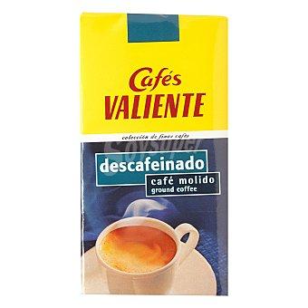 Cafés Valiente Café descafeinado molido Paquete 250 g