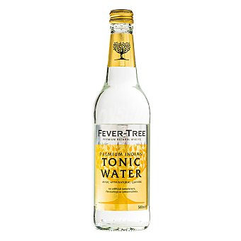 FEVER TREE tónica premium indian  botella 50 cl
