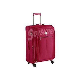 Visa Maleta de 4 ruedas slim, flexible, material de tela color rojo, 68cm. delsey delsey Valise