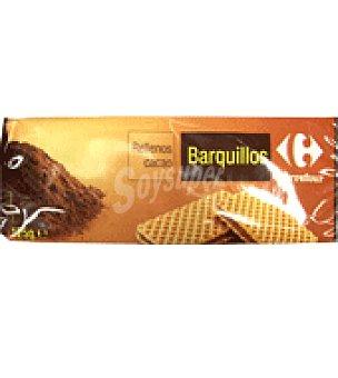 Carrefour Barquillos rellenos con crema de cacao y avellanas 125 g