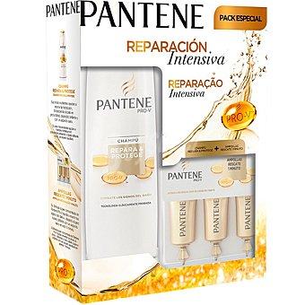 Pantene Pro-v Pack repara y protege con champú + ampollas rescate 1 minuto envase 1 unidad Frasco 360 ml