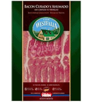 Casa Westfalia Bacon curado y ahumado 100 g