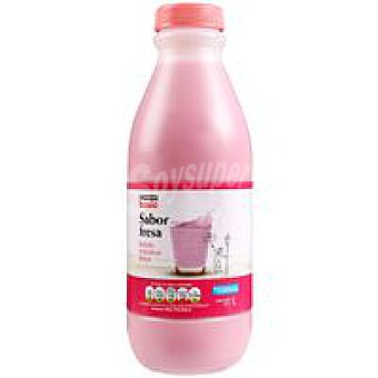 Eroski Basic Batido de fresa Botella 1 litro