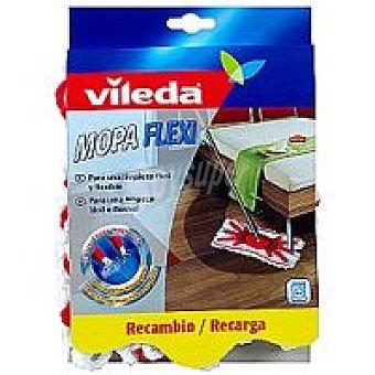 Vileda Recambio de mopa flexible Pack 1 unid