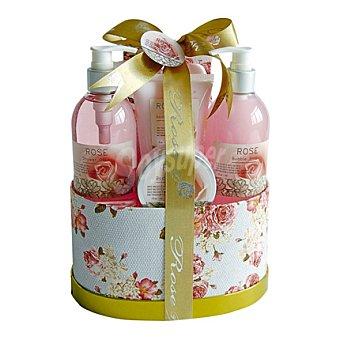 ROSE Set de baño caja de rosas 1 ud