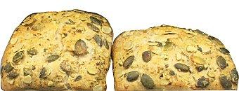 BROT FACTORY Panecillo con pipas de calabaza Paquete 4 unidades (320 g)