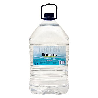Fontecabras Agua mineral natural 8 l