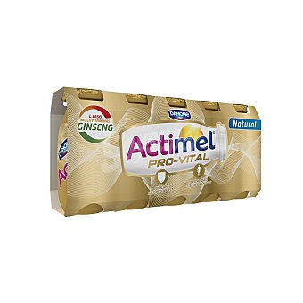 Danone Actimel Provital Natural con ginseng pack 5 unidades de 100 ml