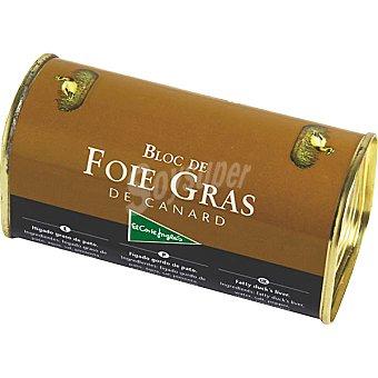 El Corte Inglés Bloc foie gras de pato Lata 200 g
