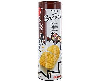 Auchan Aperitivo tejas de barbacoa 170 gramos