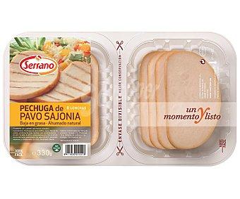 Carnicas Serrano Pechugas de pavo al estilo Sajonia 330 gramos