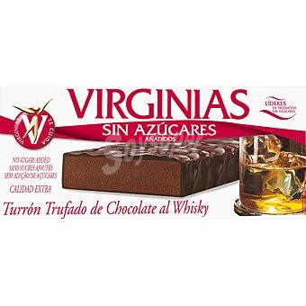 Virginias sin azúcar turrón trufado de chocolate al whisky Tableta 200 g