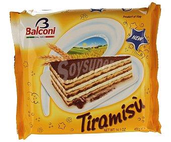 Balconi Tarta de tiramisu Paquete 400 g