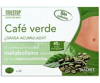 TRIESTOP Café Verde (45% ácido clorogénico) 60c