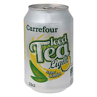 Carrefour Refresco de té al limón light 33 cl