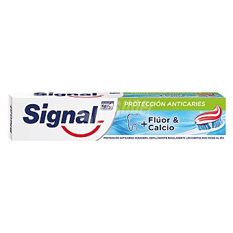 Signal Pasta de dientes con flúor y calcio, para unos dientes sanos y fuertes 75 ml