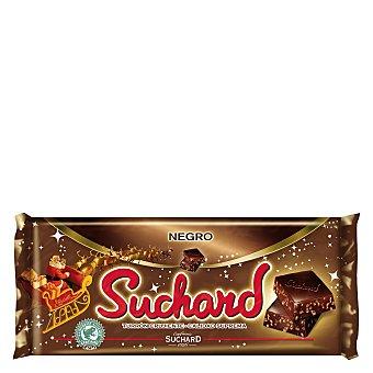 Suchard Turrón crujiente de chocolate negro 260 g