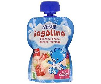 Iogolino Nestlé Puré de plátano y fresa formato bolsita pouche Envase 90 g