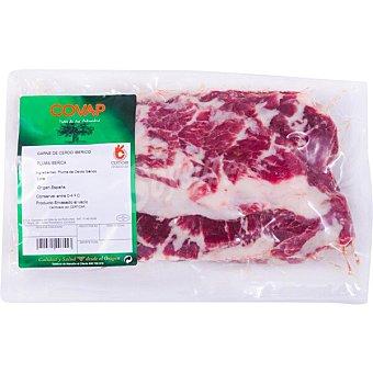 Covap Pluma fresca de cerdo ibérico peso aproximado Bandeja 500 g
