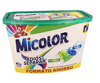 Micolor Detergente càpsulas (adiòs al separar) 45 cps