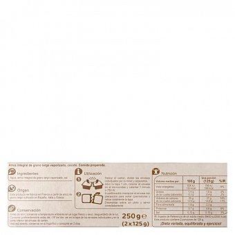 Carrefour Arroz integral para microondas Pack de 2 ud. de 125 g
