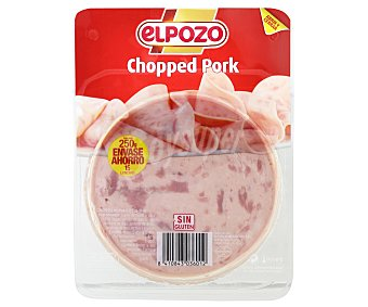 ElPozo Chopped Pork en lonchas 250 g