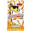 Snack Tronquitos sabor queso Bolsa 100 g Aliada