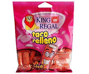 King Regal Taco relleno Pica Fresa Bolsa de 100 Gramos