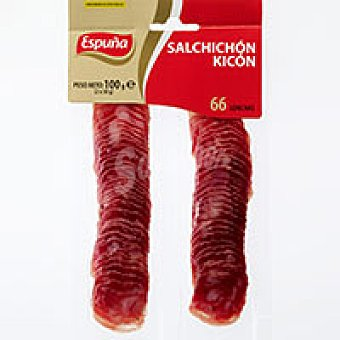 Espuña Salchichón Kicón Sobre 100 g