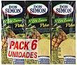 Zumo de piña y uva con vitamina C Pack de 6x20cl Don Simón
