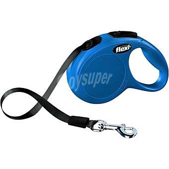 Flexi Correa extensible para perros color azul para mascotas hasta 12 kg 1 unidad 12 kg 1 unidad